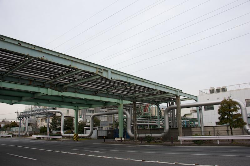 カメラ散歩 川崎工場編 極寒