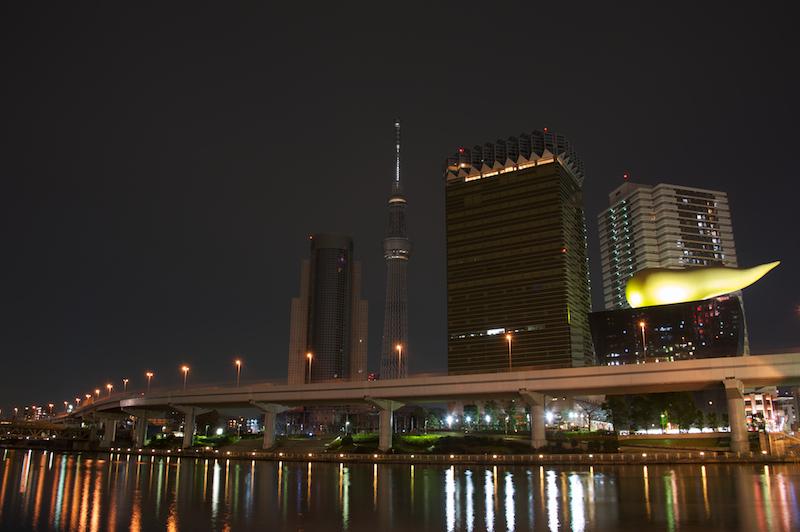 カメラ散歩 東京スカイツリー 夜景